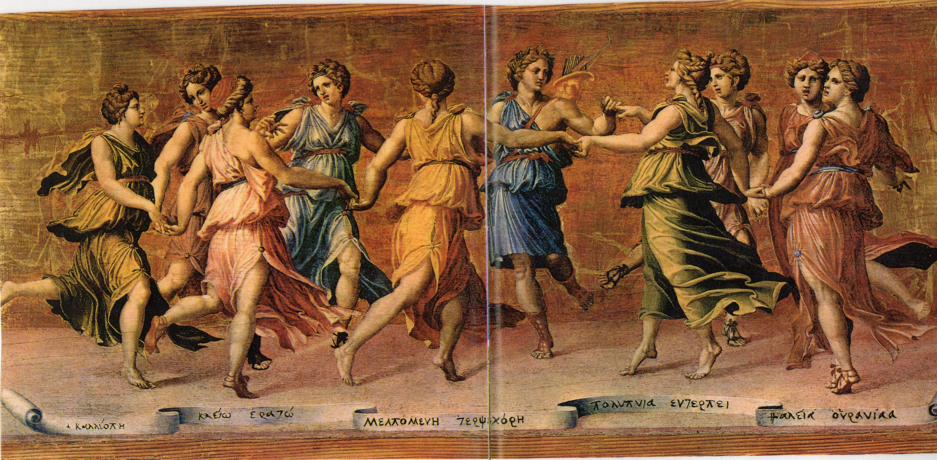 Ancient Greece dance