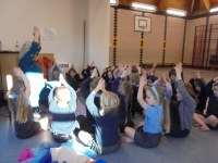 Indian dance workshop at Stoke Holy Cross