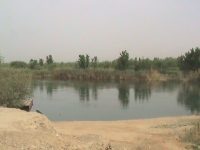 Euphrates river Syria : Ancient Mesopotamia