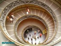 Ancient Rome Vatican Spiral stairway